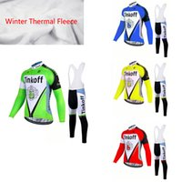2017 Tinkoff Team Men's Ciclismo Inverno Jersey Set / Inverno Thermal Velo Bicicleta Roupa Mens Bicycle Vestuário Bike Clothes, Gel Pad.