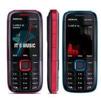 Wholesale Mobile Quadband - Unlocked Nokia 5130 XpressMusic Quadband Original MP3 MP4 Bluetooth FM Radio Camera 2MP GSM Mobile Bar Phone