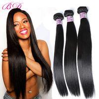 ingrosso estensioni dei capelli umane da 34 pollici-3 / 4PCS un insieme capelli estesi a buon mercato capelli brasiliani vergini estensioni capelli umani brasiliani