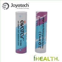Wholesale Icr Batteries - 100% Original Joyetech 2000mah Avatar ICR 18650 Battery Capacity 20A Avatar ICR 18650 fit for most mod fast shipping