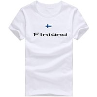 Men special tshirt - Finland T shirt Outdoor sport short sleeve Special emblem tees Nation flag clothing Unisex cotton Tshirt