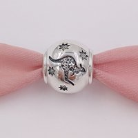 bracelet pandora croix achat en gros de-Authentique perle en argent Sterling 925 Southern Cross Kangourou charme en argent convient aux bijoux de style Pandora de style européen Collier Bracelets 791301