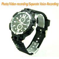 Wholesale Spy Watch Mobile - Y33 FULL HD 1920*720 WIFI Smart Watch mobile phone Remote Control Wrist Watch 8GB 16GB 32GB Spy Hidden Camera DV Video Recorder ann