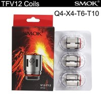 Wholesale Tank Top King - Top Quality TFV12 Coils Replacement Coil Heads for TFV12 Cloud Beast King Tank Atomizer X4 Q4 T12 T6 Vape Electronic Cigarettes