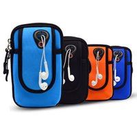 Wholesale universal sports lighting - jcd Hot Fashion Sports Running Armband Bag Case Workout Armband Holder Pounch for iphone 7 6s plus Universal Cell Phones Arm Bag Band