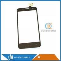 Wholesale Alcatel One Touch Mini Idol - 20PCS Lot 100% High Quality Touch Screen For Alcatel One Touch Idol mini OT6012 Free DHL EMS