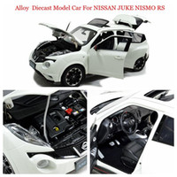 Wholesale Rs 18 - Brand New Alloy Diecast Model Car for Nissan Juke Nismo Rs 2015 Scale 1:18 White Open Doors Retail and Wholesale By Paudimodel
