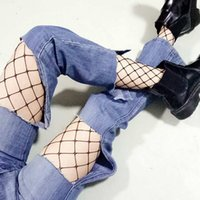 Nylon black plaid tights - 2017 HOT Fishnet Tights Women Stocking Pantyhose Leggings Sexy Fashion Fishnet Mesh Long Socks High Quality Nylon Stockings