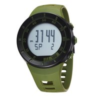 Wholesale Cool Dive Watches - New 2017 OHSEN electronic Digital Led Boys Men Wristwatch Green Army Cool Outdoor Sport Diving Watches Relogio hombre Mens Gift