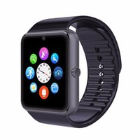 Wholesale Remote Iphone Support - GT08 Smart Watch Clock Sync Notifier Support Sim Card Bluetooth Connectivity For Apple iphone Android Phone Smartwatch