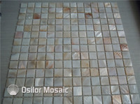 Wholesale 100 freshwater shell mother of pearl mosaic tile for interior house decoration bathroom and kitchen wall tile square meters per