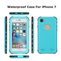 Wholesale Outdoor Protective Iphone Cases - NEW Redpepper Waterproof Heavy Duty Hybrid Swimming Dive Case For Apple iPhone 7 7Plus Dirt Shock Snow Proof Outdoor Protective Phone shells
