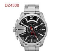 Wholesale fashion watchs - TOP QUALITY BEST PRICE New Leather DZ4282 DZ4283 DZ4308 DZ4309 DZ4328 DZ4329 DZ4338 Sport Chronograph Watchs Men's Quartz Wristwatches