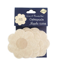 Wholesale Wholesale Padded Bras - 200Pcs New Women Disposable Cubrepezon Nipple Cover Patch Breast Nipple Pad Petals Sin bra Breast Nipple Pad Petals