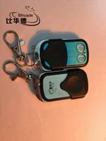 обучающий пульт 315 мгц оптовых-Wholesale- 315MHz RF remote control New Copy code 4 Ch Can copy Rolling code Key Fob learning garage door controller cloning