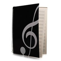 Wholesale composition notebooks for sale - Group buy New Blank Sheet Music Composition Manuscript Staff Paper Music Notebook Pages High Note