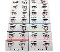 Wholesale Individual Fake Long Black Eyelashes - New Arrival Kylie false eyelashes handmade natural fake eye lash extension long thick eye makeup tool