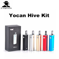 Wholesale Wholesale Herbal Oils - Authentic Yocan Hive Kit with 2 in 1 Vaporizer For Wax & oil 650mah Battery Box Mods CE3 O Pen Atomizer herbal vaporizer