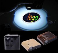 Wholesale Opel Light For Car - 2PCS For Opel Wireless Led Car door Logo emblem Door Projector Laser Light LED Welcome Ghost Shadow Light car styling