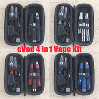 Wholesale Electronic Cigarette Pen Liquid - 4IN1 Dry Herb Vapes Pen Pink Herbal Vaporizers Electronic Cigarette Dab Glass Globe Dome Wax Oil Liquid All in one Atomizer Cartridges