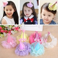 Wholesale Toddlers Tiaras Baby Girls - Baby Christmas Tiara Hair Crown Gift Glitter Hair Clip Ornaments Party Supplies For Toddler Girl Kid