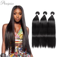 Wholesale Tape For Human Hair Extensions - Avejoice Brazilian Remy Human Hair Straightener 10a Human Hair Weft Remy Tape Hair Extension for Women Hairs 1 pcs One Set