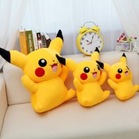 Wholesale Giant Figure - New Giant Pikachu Plush Cute Pikachu Plush Toys High Quality Stuffed Animals Soft Toys For Children's Gift 60cm