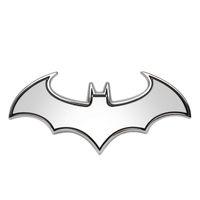 Wholesale Cool Metal Badge - 3D Car Stickers Cool Bat Metal Auto Logo Batman Badge Emblem Tail Decals Auto Decoration Accessories Car-styling