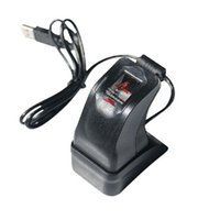 Wholesale Fingerprint Computers - Brand New USB Fingerprint Reader Scanner Sensor ZKT ZK4500 for Computer PC Home and Office , with Retail Box Free Shipping