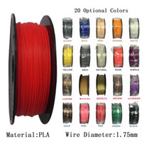 3d druckermaterialien großhandel-1 KG / Rolle / 2.2LBS / Spule PLA 1.75mm Filament 3D Drucker Filament Flexible und Umwelt Verbrauchsmaterial Material 3D Drucker Filament
