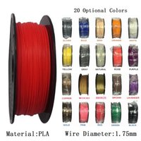 Wholesale 3d spool - 1KG Roll 2.2LBS Spool PLA 1.75mm Filament 3D Printer Filament Flexible and Environmental Consumables Material 3D Printer Filament