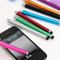 Wholesale samsung new touch phones for sale – best 300pcs New Universal Aluminum Touch Pen Screen Stylus Long For Phone For Samsung Huawei etc Tablet Laptps Other Mobile Phones