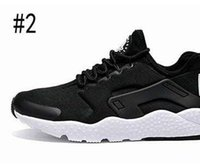 Wholesale Pointed Leather Shoes Men - New Air Huarache 3 Running Shoes For Women & Men,Red Black High Quality Sneakers Outdoors Athletics Sports Shoes Eur 36-44