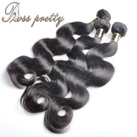 Wholesale pretty virgins - Wholesale-Ross Pretty Hair High Quality Virgin Body wave brazilian hair weave bundles human hair extension Brazilian virgin hair body wave