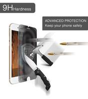 lcd gizlilik filmi toptan satış-IPhone 4 s Için Anti-Spy Gizlilik Buff Ekran Koruyucu LCD Temperli Cam iPhone 6 s 7 s Artı Perakende Paketi Ile Cep Telefonları Filmler