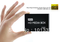 Wholesale Usb Sd Media Reader - Wholesale- Full HD 1080P Car Media Player HDMI,AV output,3D HD TV SD MMC Card reader USB Host,Free Car adapter AV Cable and Free shipping!