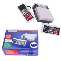 Wholesale Video Player Hdmi - Classic HDMI Game Console Mini TV Handheld Video Game Player For Nes Games With 500 600 Built-in Different Games HDMI Output With Retail Box