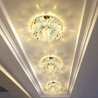 Wholesale Small Led Ceiling Light Fixtures - Flush Mount Small LED Ceiling Light for Art Gallery Decoration Front Balcony lamp Porch light corridors Light Fixture
