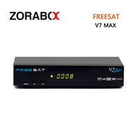 Wholesale Satellite Receiver Usb Pvr - Digital Satellite Receiver Freesat V7 Max DVB-S2 Support USB WIFI USB PVR Ready Network Sharing Cccam Newcam Bisskey Powervu Youtube Youporn