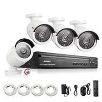 Wholesale Security Camera System Poe Outdoor - ANNKE 4CH NVR 960P HD IP Network PoE IR Outdoor CCTV Home Security 1500TVL Camera System