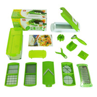 Wholesale Pieces Eight - Green Health Multi-function Cutting Artifact Lazy Kitchen Magic Shredder Cut Slices Slicer New ABS Material