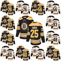 2018 New Brand Men Boston Bruins 76 Connor Clifton 56 Tommy Cross 93 Taylor  Doherty Matt Grzelcyk Brandon Carlo Justin Hickman Hockey Jersey 837fa78ac