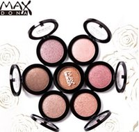 Wholesale Max Dona - MAX Dona Eyeshadow Single Eye Shadow 11 colors Makeup Eyeshadow Durable Waterproof eyeshadow VS Chocolate Bar Eyeshadow