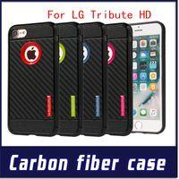 Wholesale Galaxy Grand Tpu Case - Motomo For LG Tribute HD X style iphone 7 plus Armor TPU case Galaxy J2 prime grand prime J7 2015 Carber Fiber Cover