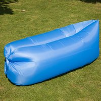 Wholesale Down Light Can - Europe and the United States ultra-light lazy inflatable sofa a variety of colors portable sleeping bags can be folded mixed wholesale