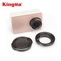 Wholesale camera xiaomi yi ii 4k action for sale - KingMa Xiaomi Yi II K Lens Cover Lens Cap mm UV Filter Lens For Xiaomi Yi K Action Sports Camera YI II k Accessories