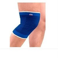 Wholesale Physical Support - Wholesale- High Quality Physical Exercise Knee Support RDX Neoprene Foam Brace Sports Fitness Knee Protect Pad Wrap Protector Blue