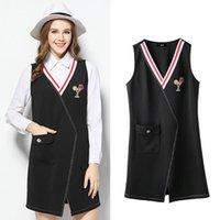 Wholesale Lady Dres - New Style Women's Pendulum Vest Dress Ladies Spring Plus Size Casual Dres Women Brief Printed SUNDRESS