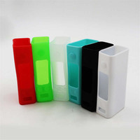 Wholesale Evic Casing - EVIC VTC Mini Silicone Case Ecig Colorful Rubber Sleeve Skin Vape Soft Silica Gel Protective Cover For Joyetech EVIC VTC Mini Box Mods