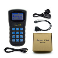 Wholesale Vag Programmer - 2017 Hot Super Vag K+Can v4.8 commander Super VAG 4.8 Odometer correction multi-language Super VAG K CAN 4.8 Free Shipping